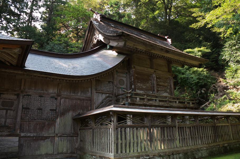 鰐淵寺 №4 摩陀羅神社